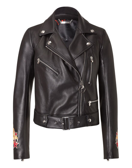 "Leather jacket ""Pekino"""