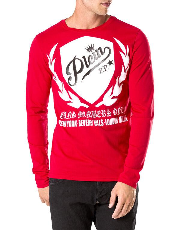 "T-shirt Round Neck LS ""Relative"""