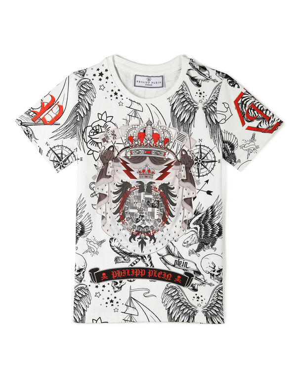 "T-shirt Round Neck SS ""Dacio Stemma"""