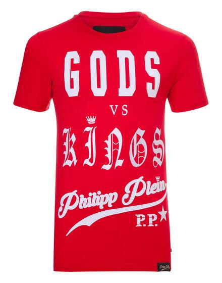 """T-shirt Round Neck SS """"Versus"""""""