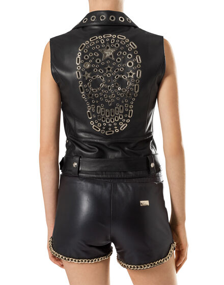 "Leather Biker ""Addison"""
