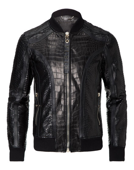 leather bomber root
