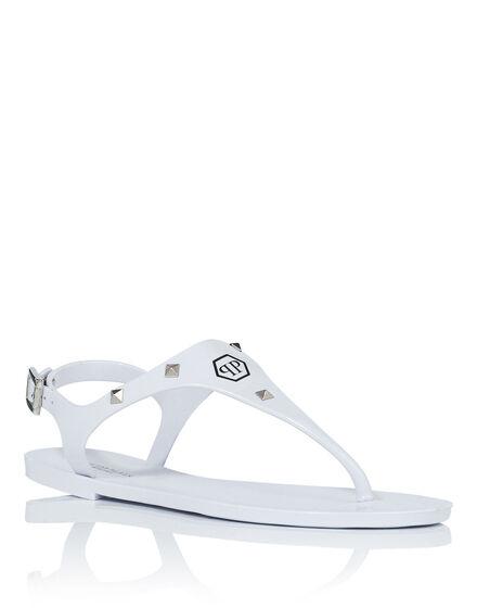 "Sandals Flat ""Santorini"""