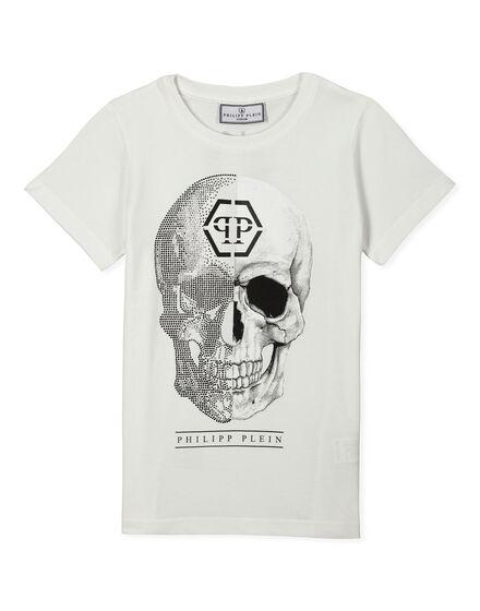 T-shirt Round Neck SS Esse Leaf