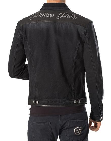 "Denim jacket ""Beowulf"""