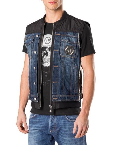 "Short Vest ""Gotic"""