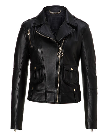 Leather Biker Beak Street