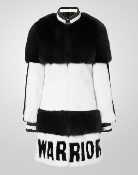 fur coat warrior