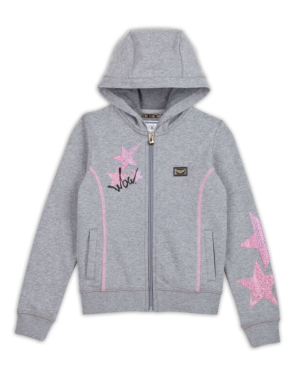 "Sweatjacket ""Sleeping beauty"""
