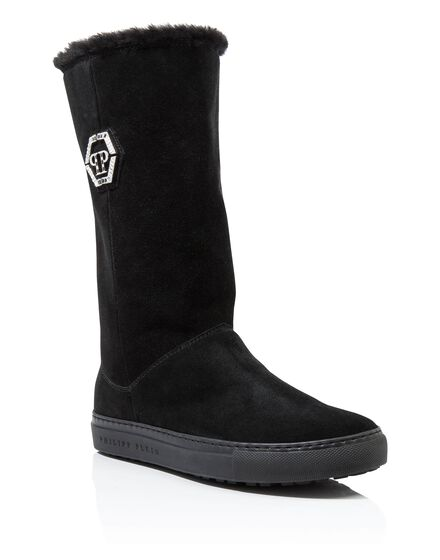 Boots Mid Flat chris