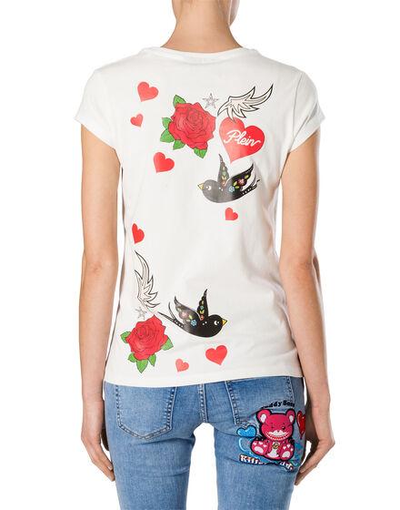 "T-shirt Round Neck SS ""Balinay Prussian"""