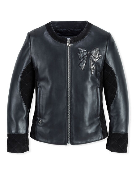 Leather Jacket Brifht Knot