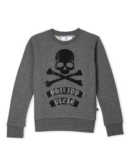 Sweatshirt LS Grey Base