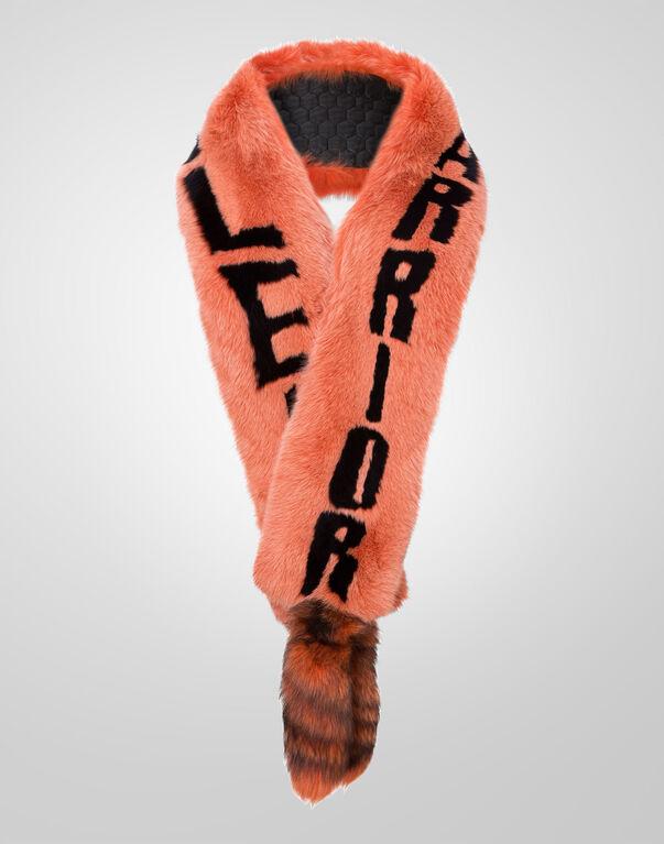 """fur scarf """"plein"""""""