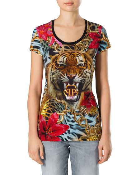 """T-shirt Round Neck SS """"Ariell"""""""