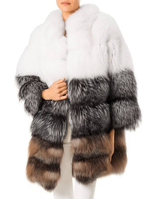 "fur jacket ""bubble"""