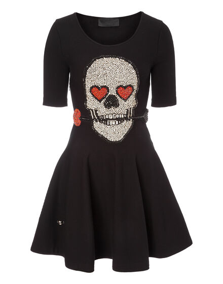 Knit Day Dress Skull Twenty