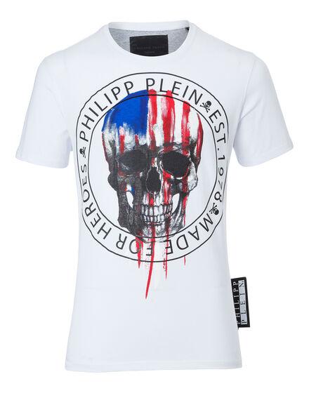 T-shirt Round Neck SS Paint america