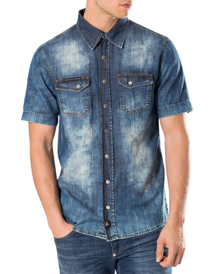 "Denim shirt ""Nuku"""