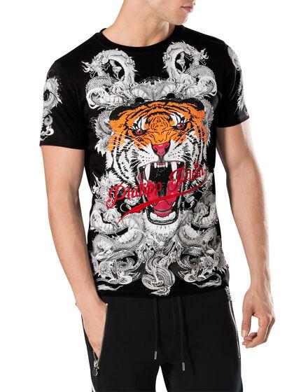 "T-shirt Round Neck SS ""Philipp tiger"""