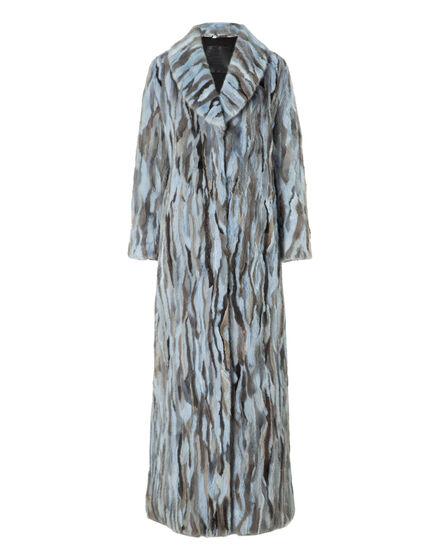 Fur Coat Long Happyness