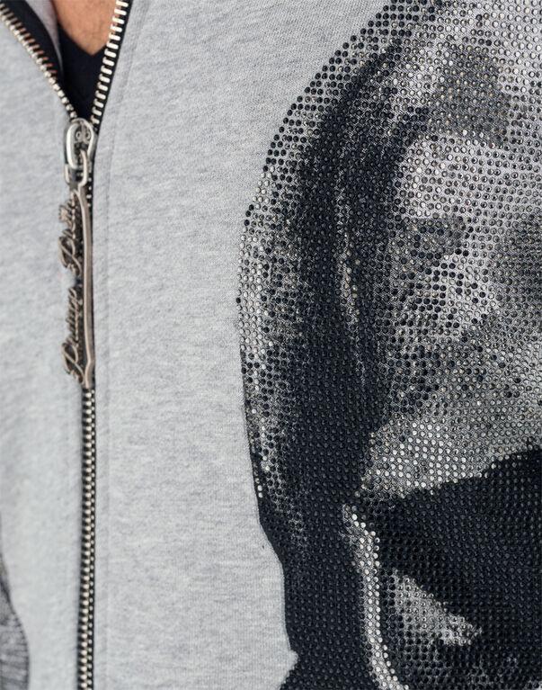"""Hoodie sweatshirt """"Neither"""""""