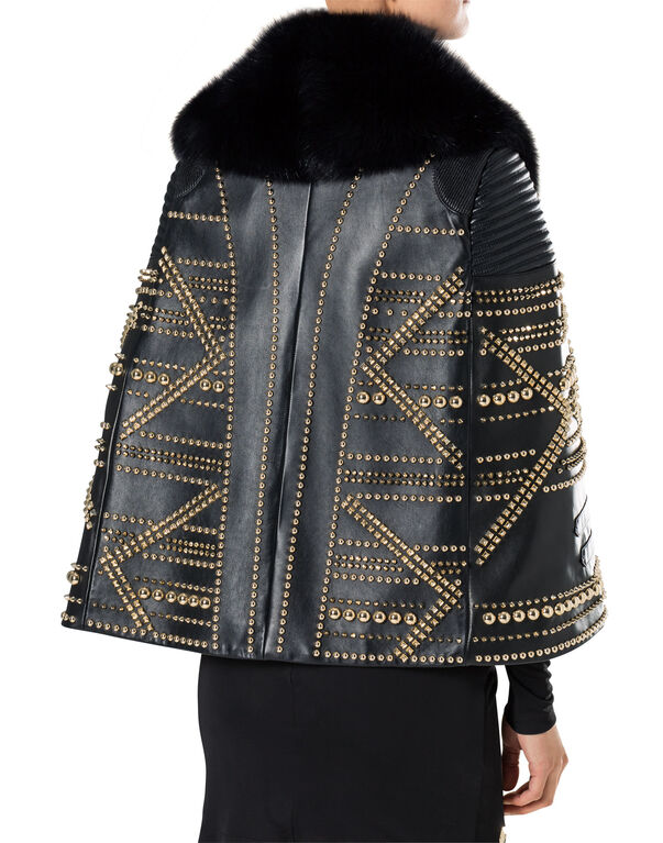 "leather coat ""shadow"""