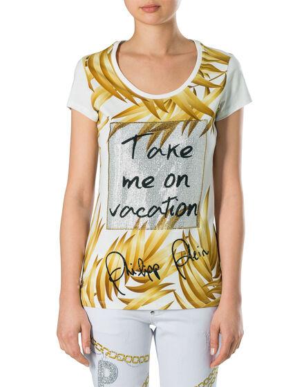 "T-shirt Round Neck SS ""Take Me"""
