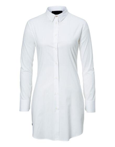 Shirt Dress Siena Blue