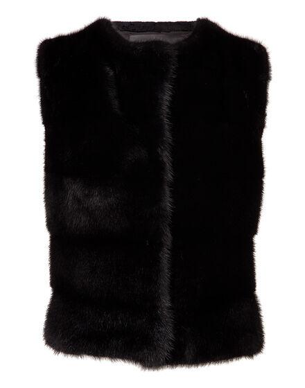 """fur vest """"fiorlispoli"""""""