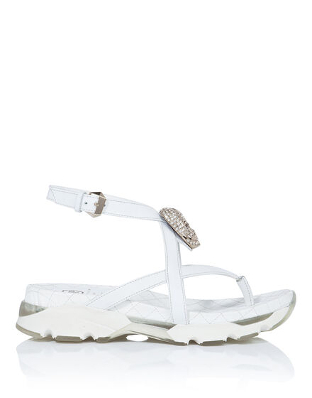 "Sandals Wedges ""Madreperla"""