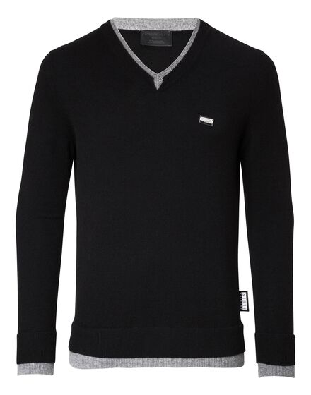 Pullover V-Neck LS Were