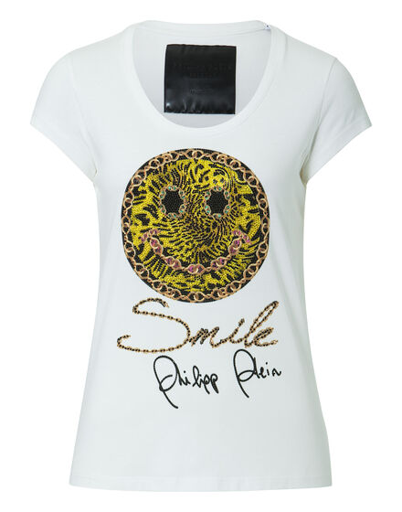 "T-shirt Round Neck SS ""Smile"""