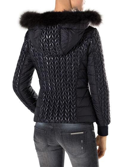 """nylon jacket """"left"""""""