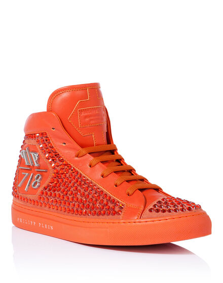 high sneakers rainbow warrior