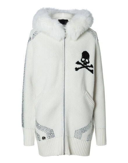 Knit Coat Short Aleks