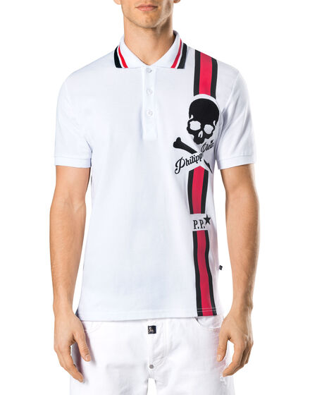 "Polo shirt SS ""Upstairs"""