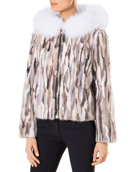 "fur jacket ""dark angel"""