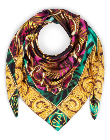 "Square Scarf ""Baroque"""