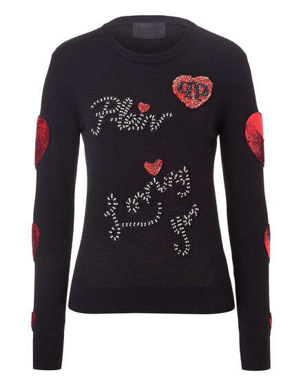 Pullover Round Neck LS Loving You