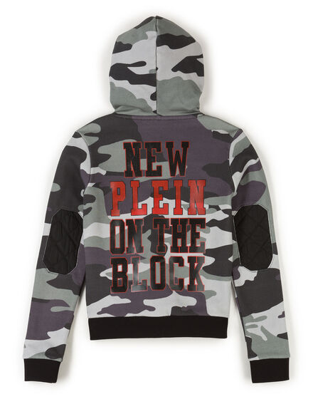 "Hoodie sweatshirt ""On The Block"