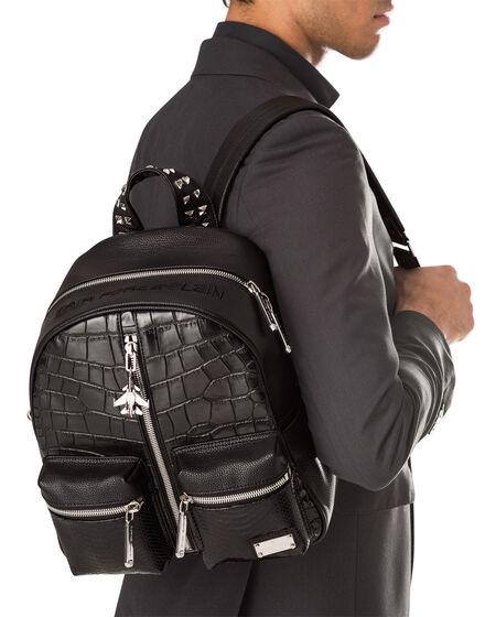 """backpack """"azzurropoli"""""""