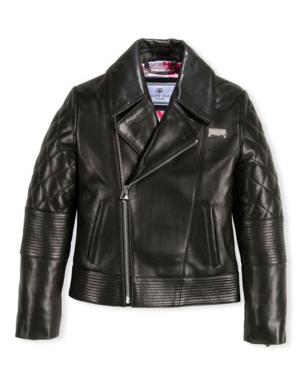 Leather Biker Dreamy Teddy