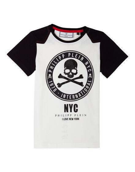 T-shirt Round Neck SS Dacio Blue