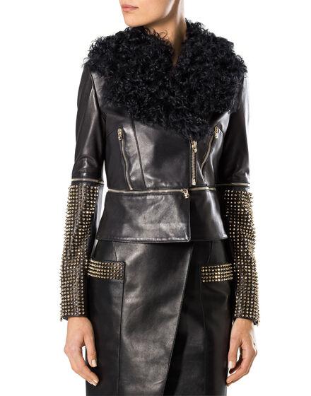"""leather jacket """"archetyp"""""""