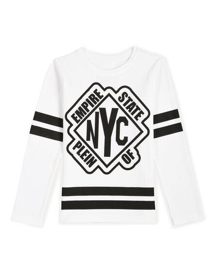 T-shirt Round Neck LS Domek