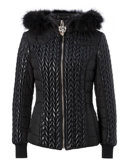 nylon jacket left