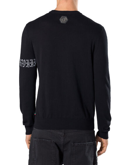 """Pullover Round Neck LS """"Electrical"""""""