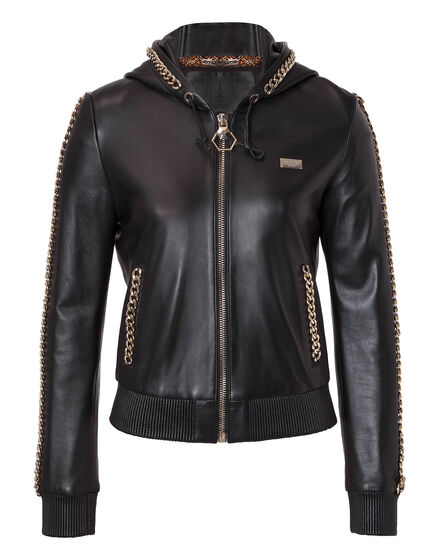 "Leather Jacket ""Devi"""