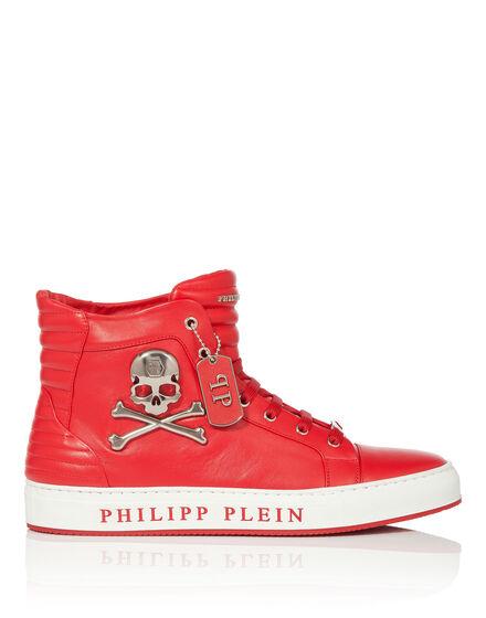"""high sneaker """"skull"""""""